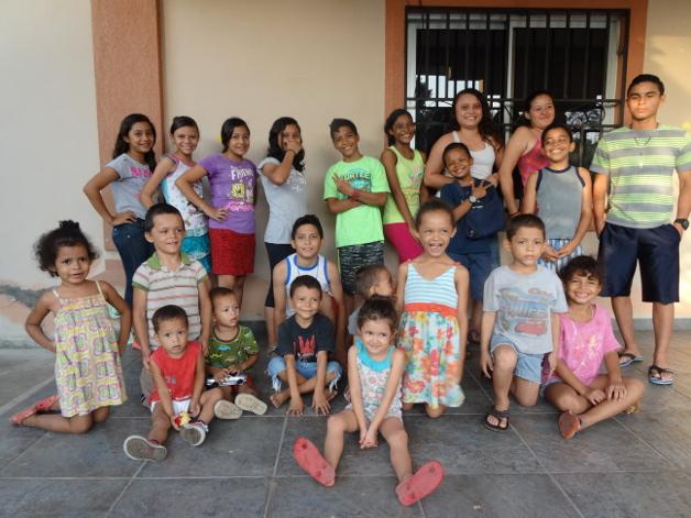 Voluntariado en Honduras.