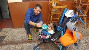 Eva y Jose, voluntariado y turismo solidario